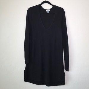 OldNavy Black Tunic Sweater
